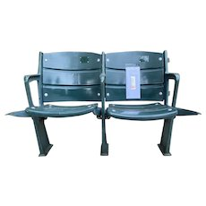 BOSTON RED SOX FENWAY PARK Stadium Seats w Sealed Letter of Authenticity