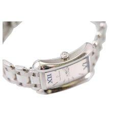 100% Authentic Carl F. Bucherer Alacria Ladies Stainless Steel Wristwatch