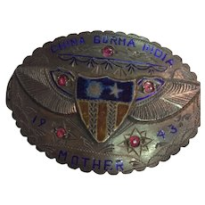 WWII Sweetheart Belt Buckle