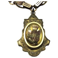 Bookchain Necklace with Locket