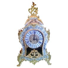 Le Ore Italian Mother of Pearl Inlay Clock