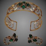HARPER Gold-Filled Bracelet and Earring Set
