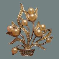 Deco-Style Marvella Brooch Pin