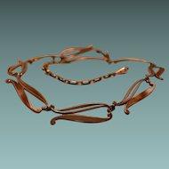 RENOIR Copper Link Necklace