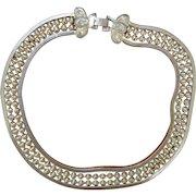 Multi Strand Choker Necklace