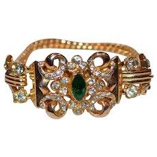 CORO Vintage Bling Bracelet