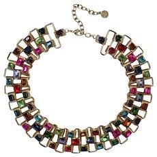 Graziano 'Rhinestone Blast' Necklace