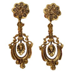 ACCESSOCRAFT Turn-of-the-Century Style Dangle Earrings
