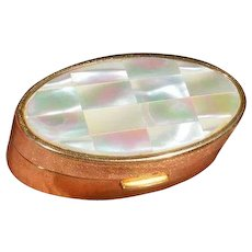Vintage  MOP MAX FACTOR Compact with Lipstick