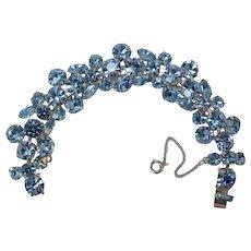 REGENCY Blue Rhinestone Bracelet