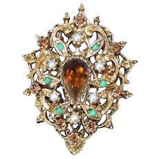 ART Victorian Style Brooch Pin