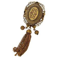 FREIRICH Tassel Brooch Pin