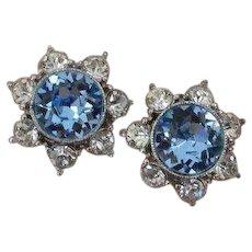 BOGOFF Blue Star Earrings