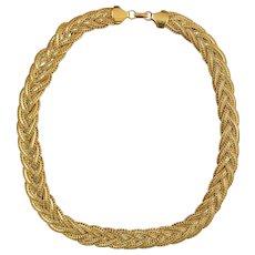 Classic NAPIER Woven Necklace