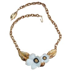Louis Feraud Flower Necklace