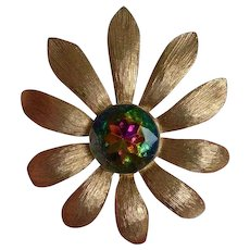 CATHE Flower Brooch Pin