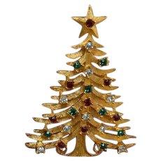 MYLU Christmas Tree Brooch Pin