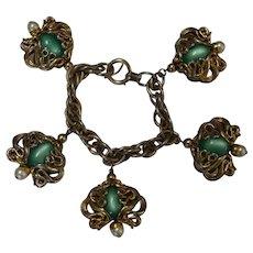 Vintage NAPIER Moonglow Bracelet