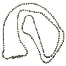 Opera Length Rhinestone Necklace