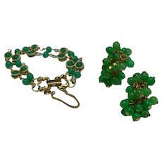 GOLDETTE NYC Cha-cha Bracelet and Earring Set