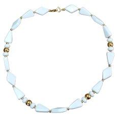 TRIFARI White Bead Necklace