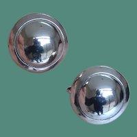 Shiny Dome Earrings