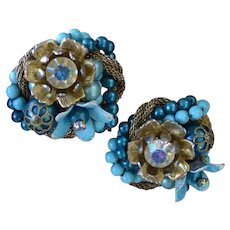 BEAUJEWELS Fantastic Blue Earrings