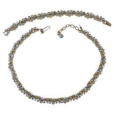 """TRIFARI """"Bubbles"""" Necklace and Bracelet Set"""