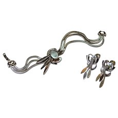 MONET Tassel Bracelet and Earrings Set