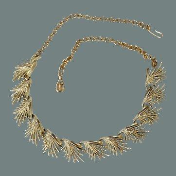 Fringed Necklace Choker