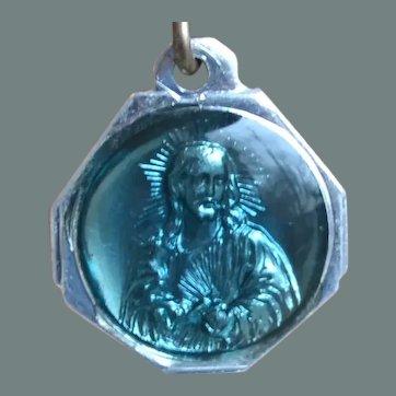 Jesus and Virgin Mary Pendant