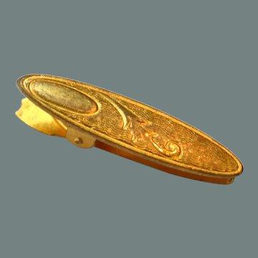 Victorian Tie Clip Brooch Pin