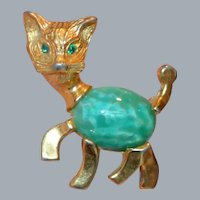 Jelly Belly Kitty Cat Brooch Pin