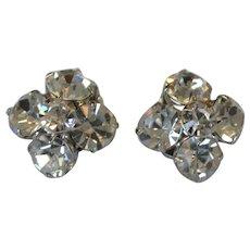 Prong Set Rhinestone Bundle Earrings