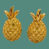 MIMI di M Pineapple Earrings