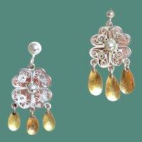 Norway Solje Silver Earrings