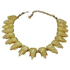 CORO Confetti Triangle Necklace Choker