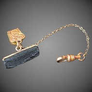 Vintage WATCH Fob and Chain