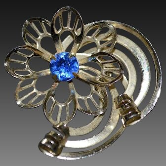 RETRO-Style Swirl Brooch Pin
