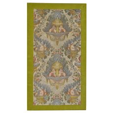 Early 19th Century Hand Stitched Silk Tapestry