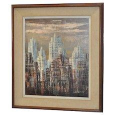 Mid Modern Skyline c.1960