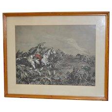 Alfons Purtscher (1885-1962) Original Watercolor c.1914
