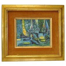 Fine Impasto Abstract Oil Painting c.1960's