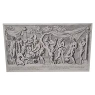 Mythical Bacchus Scene Engraving