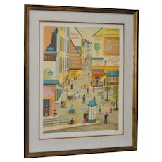 Fanch Ledan (French) Signed & Numbered Lithograph