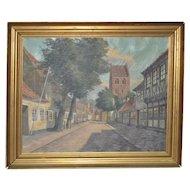 Frederik Svendsen (1885-1975) Danish Painting c.1950s