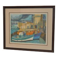 Georges Lambert (French, 1919-1998) Pencil Signed Lithograph c.1977