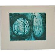 Terry Haas (1923-2016) Etching w/ Aquatint c.1960s