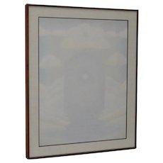 "Gary Smith ""Visions of Possibilities"" Prisma Color Pencil c.1972"