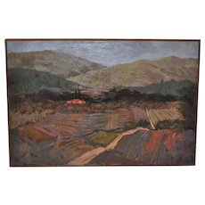 Tuscany Landscape Oil Painting